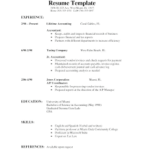 High School Job Resume Examples Student Spacesheep Co