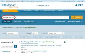 research papers for from ieee springer open the paper link you want to and copy the whole link