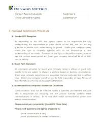 Advertising Proposal Template Enchanting Sample Email For Proposal Submission Scrumps