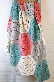 Crochet Christmas Lights Blanket How To Crochet A Hexagon Blanket Winding Road Crochet