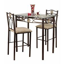 Kitchen Bistro Table Set Tall Bistro Table And Chairs Dinetteless Store For Many More