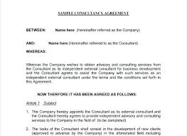 Consulting Agreement Sample Contract Template – Mklaw