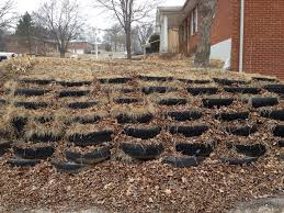 tires for landscaping it was a goodyear when mr cooper made his tire based retaining wall