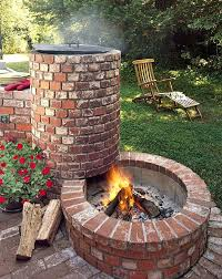best cinder block fire pit images on bricks for round brick building a square