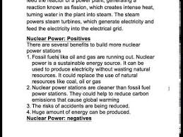 nuclear power good or bad  nuclear power good or bad