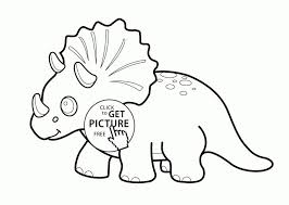 Coloring Books Triceratops Coloring Page Dinosaurs Triceratops