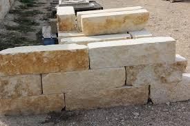retaining wall limestone 8x8