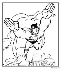 Superman Kleurplaat 15653 Kleurplaat
