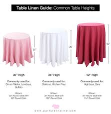 tablecloth sizes standard square round size calculator guide tablecloth sizes