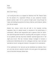 Recommendation Letter For Caregiver Letter Of Reference Sample