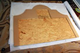 how to build an upholstered headboard diy upholstered bed tutorial