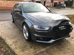 audi a4 2015 black. Wonderful Audi 2015 64 AUDI A4 30 V6 TDI 245 QUATTRO BLACK EDITION S LINE DAMAGED  UNRECORDED Intended Audi Black T