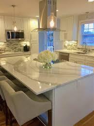 light grey quartz countertops enticing appearance white shaker