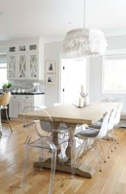 Whether you are applying classic design, vintage, modern, or rustic,  applying acrylic dining table is a good option.