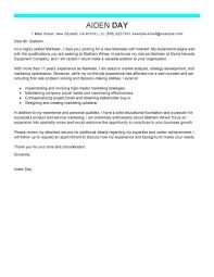 Email For Cover Letter And Resume Best Marketing Cover Letter Examples LiveCareer 56