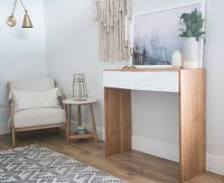 build a modern diy waterfall console table