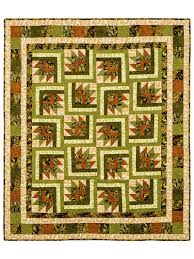 Quilt Patterns - A Hint of Fall Quilt Pattern & For cool nights and cozy moments! Adamdwight.com