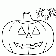 Small Picture Halloween Coloring Pages Pumpkins Free Pumpkin Pattern Page