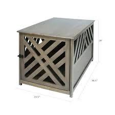 modern dog furniture. Modern Dog Crate End Table Furniture