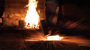 forging a sword. damascus steel knife making (by john neeman tools) on vimeo forging a sword