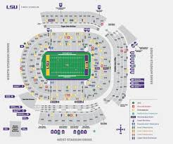 Detroit Tiger Stadium Seating Chart With Rows New Lsu Football Stadium Seating Chart Michaelkorsph Me