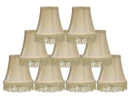 6 inch chandelier lamp shades silk bell 5 inch chandelier lamp shade with fringe 6 colors
