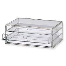 moma muji acrylic multipurpose case 3 drawers from an