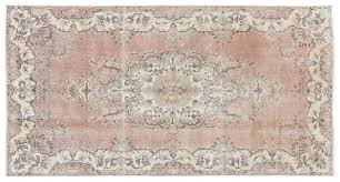 turkish over dyed vintage rug 1