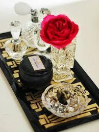 Bathroom Vanity Tray Decor DIY Art Deco Vanity Tray Vanity tray Diy art and Hgtv 39
