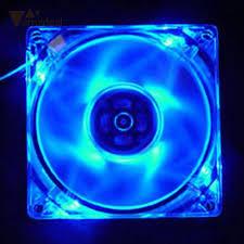 computer fan led. amzdeal laptop cpu cooler fan cooling 4 pin 120mm pc computer led light led