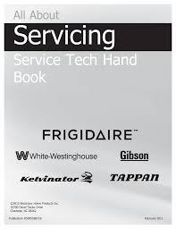 Frigidaire Affinity Dryer 3 Blinking Lights Frigidaire Service Tech Handbook Atech Appliance Repair