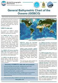 General Bathymetric Chart Of The Oceans Gebco British