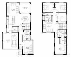 2 story modern house plans best of modern single story house plans size bedroom 2 story