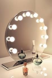 vanity mirror set with lights. hollywood vanity mirror (round) set with lights
