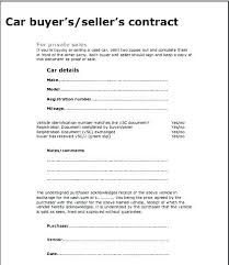 Vehicle Sale As Is Form Home Sales Agreement Template Sale Contract Auto Used Car