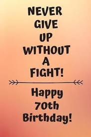 bol never give up without a fight