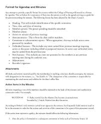 How To Write Minutes Template Corporate Minutes Template
