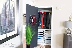 diy coat closet organization an ikea trofast garrison street design studio
