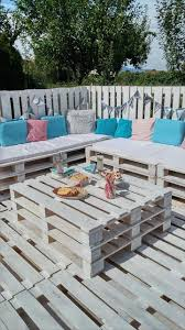 Patio From Pallets Pallets Garden Party Lounge Projects
