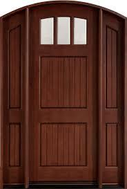 Exterior Door solid exterior door pics : Front Door Custom - Single with 2 Sidelites - Solid Wood with ...