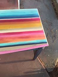 paint colors for furnitureMexican Blanket Dresser How to Blend Color With Clay Based Paint