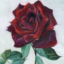 red rose 500 red rose oil painting