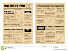 Old Fashion Newspaper Template Old Fashioned Newspaper Article Template Yupar Magdalene