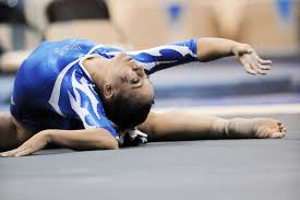 floor gymnastics splits. Woman Floor Female Artistic Exercise Fitness Sports Performance Dancing  Athlete Strength Gymnastics Split Graceful Gymnast Poise Splits O