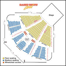 Ppac Interactive Seating Chart 62 Complete Dte Seat Number Chart