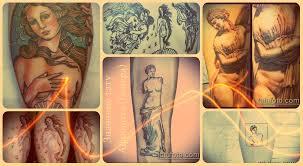 значение тату афродита венера история смысл фото эскизы