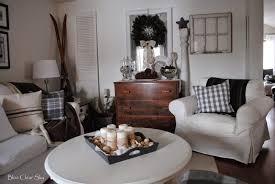 dresser in living room. our winter living room dresser in