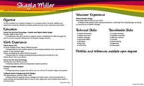 Resume Objective For Graphic Designer Graphic Design Resume Objectives Best Resume Gallery 6