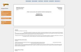 proposal screenshot bookkeeping proposal