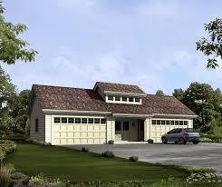 Traditional House Plans  4 Car Garage 20066  Associated Designs4 Car Garage Size